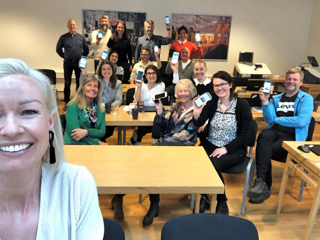 Sosiale medier kurs med Kaja