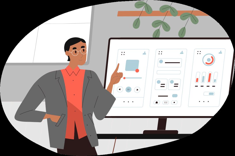 Planlegging og skisser av designsystem